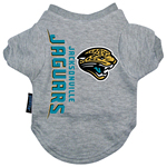 View Image 1 of Jacksonville Jaguars Dog T-Shirt