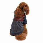 View Image 1 of Java Hoodie Dog Jacket by Puppia - Blue