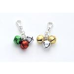View Image 1 of Jingle Bell Christmas Holiday Dog Collar Charm or Cat Collar Charm
