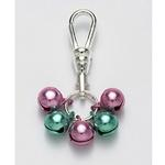 View Image 1 of Jingle Bell Preppy Dog Collar Charm or Cat Collar Charm