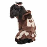 View Image 1 of Juicy Dog Jumpsuit by Pinkaholic - Brown