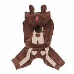 View Image 3 of Juicy Dog Jumpsuit by Pinkaholic - Brown