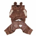 View Image 2 of Juicy Dog Jumpsuit by Pinkaholic - Brown