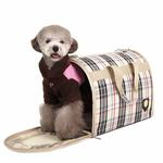 View Image 1 of Junior Cage Dog Carrier by Puppia - Beige