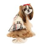 View Image 2 of Junior Dog Dress by Puppia - Beige