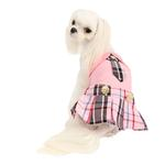 View Image 3 of Junior Dog Dress by Puppia - Pink