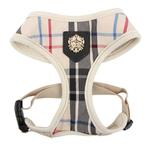 View Image 2 of Junior Dog Harness by Puppia - Beige