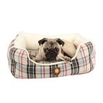 View Image 1 of Junior House Dog Bed by Puppia - Beige