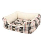 View Image 3 of Junior House Dog Bed by Puppia - Beige