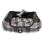 View Image 1 of Junior House Dog Bed by Puppia - Gray
