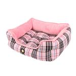 View Image 3 of Junior House Dog Bed by Puppia - Pink
