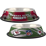 View Image 1 of Kansas City Chiefs Dog Bowl