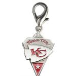 View Image 1 of Kansas City Chiefs Pennant Dog Collar Charm