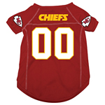 View Image 1 of Kansas City Chiefs Dog Jersey