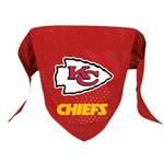 View Image 1 of Kansas City Chiefs Mesh Dog Bandana