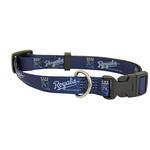 View Image 1 of Kansas City Royals Baseball Printed Dog Collar - Navy