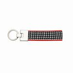 View Image 1 of Up Country Key Ring - Classic Black Houndstooth
