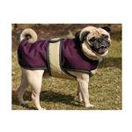 View Image 2 of Kodiak Dog Coat - Plum & Tan