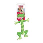Kong BraidZ Dog Toy - Frog