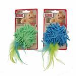 View Image 4 of Kong Moppy with Feathers Catnip Toy