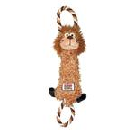 Kong Tugger Knots Dog Toy - Lion