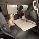 View Image 1 of Kurgo Backseat Bridge - Reversible Black/Khaki