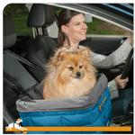View Image 2 of Kurgo Loft Dog Booster Seat - Blue