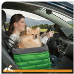 View Image 1 of Kurgo Loft Dog Booster Seat - Green