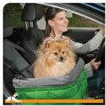 View Image 2 of Kurgo Loft Dog Booster Seat - Green