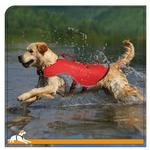 View Image 1 of Kurgo Surf n Turf Dog Lifejacket - Atomic Drop