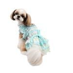 View Image 2 of Kyria Dog Dress by Pinkaholic - Aqua