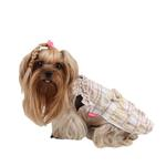 View Image 3 of Kyria Dog Dress by Pinkaholic - Brown