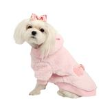 View Image 1 of Lavish Dog Hoodie by Pinkaholic - Pink