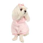 View Image 2 of Lavish Dog Hoodie by Pinkaholic - Pink