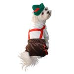 View Image 1 of Lederhosen Halloween Dog Costume