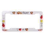 View Image 1 of License Plate Frame - Dogs Rule