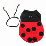 View Image 2 of Little Ladybug Dog Costume Harness