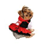 View Image 1 of Little Red Riding Hood Halloween Dog Dress
