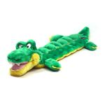 View Image 1 of Long Body Gator Squeaker Mat Dog Toy