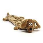 Long Body Weiner Dog Squeaker Mat Dog Toy