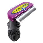View Image 1 of Long Hair FURminator for Large Cats - Purple