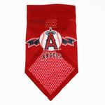 View Image 1 of Los Angeles Angels Mesh Dog Bandana