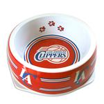 View Image 1 of Los Angeles Clippers Plastic Dog Bowl