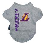 View Image 1 of Los Angeles Lakers Dog T-Shirt