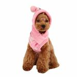 View Image 1 of Love Letter Dog Hat by Puppia - Pink