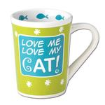 View Image 1 of Love Me, Love My Cat Mug