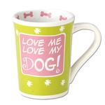 View Image 1 of Love Me, Love My Dog Mug