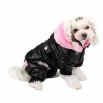 View Image 1 of Love Party Dog Jumpsuit by Pinkaholic - Black
