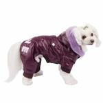 View Image 2 of Love Party Dog Jumpsuit by Pinkaholic - Purple