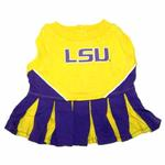View Image 1 of LSU Tigers Cheerleader Dog Dress
